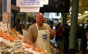 Fisch Verkäufer
