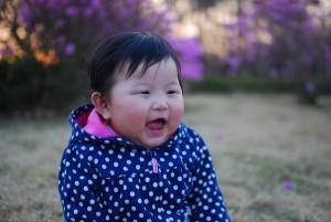 Fröhliches Baby