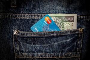 Kreditkarte und Geld